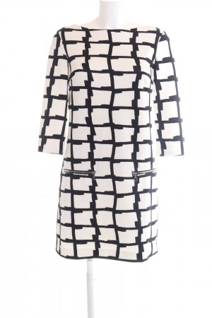 Ana Alcazar Longsleeve Dress natural white-black graphic pattern casual look