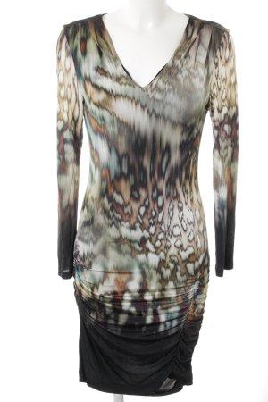 Ana Alcazar Longsleeve Dress abstract pattern elegant