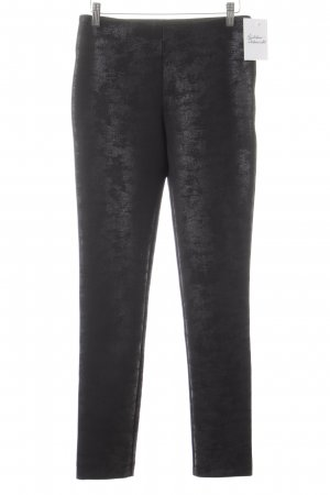Ana Alcazar Leggings schwarz Glanz-Optik