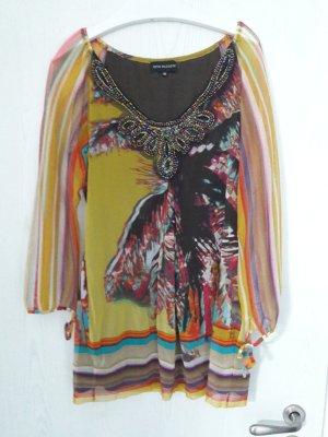 Ana Alcazar Robe tunique multicolore