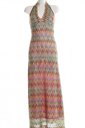 Ana Alcazar Maxi-jurk abstract patroon casual uitstraling