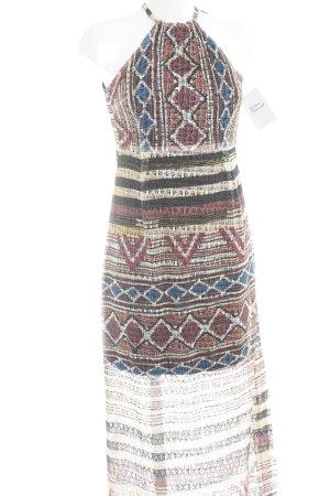 Ana Alcazar Maxi Dress ethnic pattern Boho look