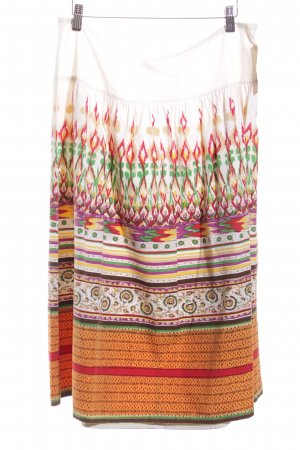 Ana Alcazar Midi-rok abstract patroon romantische stijl
