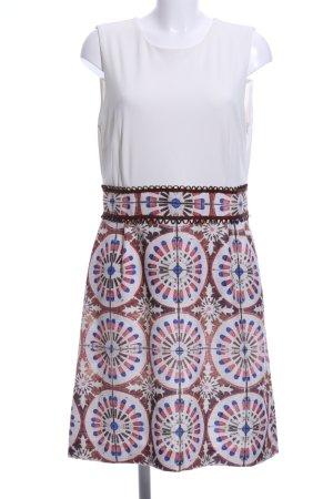 Ana Alcazar Mini Dress abstract pattern casual look