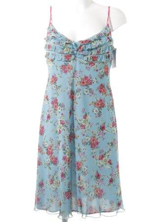 Ana Alcazar Mini Dress flower pattern romantic style