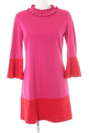 Ana Alcazar Mini Abito rosa-rosso stile romantico