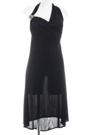 Ana Alcazar Halter Dress black elegant