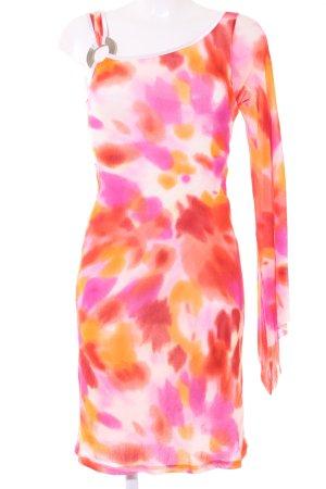 Ana Alcazar One Shoulder Dress spots-of-color pattern casual look