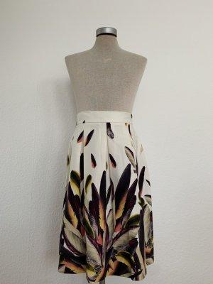 Ana Alcazar Midi Skirt multicolored