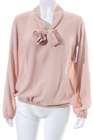 Ana Alcazar Schluppen-Bluse nude klassischer Stil