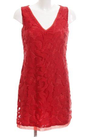 Ana Alcazar Lace Dress red elegant