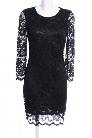Ana Alcazar Lace Dress black elegant