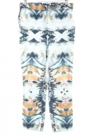 Ana Alcazar Jersey Pants mixed pattern casual look
