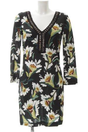 Ana Alcazar Stretch Dress flower pattern elegant