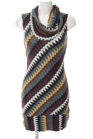 Ana Alcazar Strickkleid abstraktes Muster extravaganter Stil