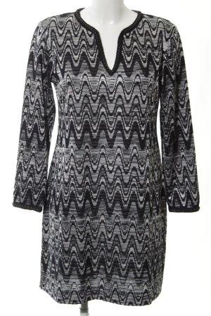 Ana Alcazar Gebreide jurk abstract patroon casual uitstraling