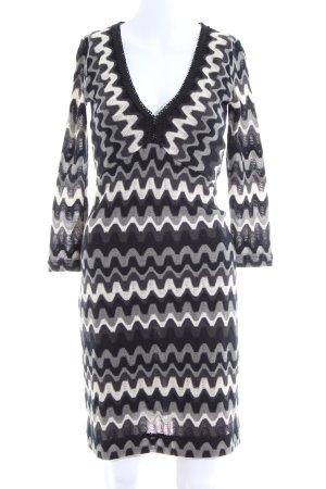 Ana Alcazar Knitted Dress allover print casual look