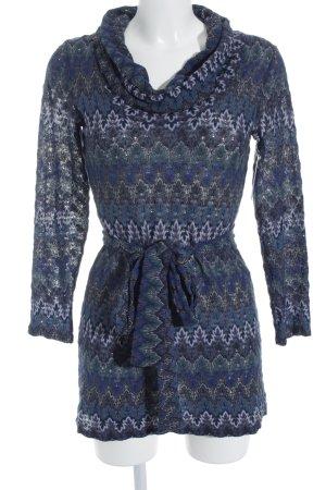 Ana Alcazar Knitted Dress floral pattern Gypsy style