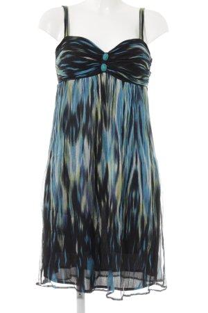 Ana Alcazar Pinafore dress abstract print beach look