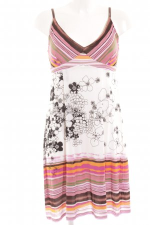 Ana Alcazar Pinafore dress abstract pattern casual look