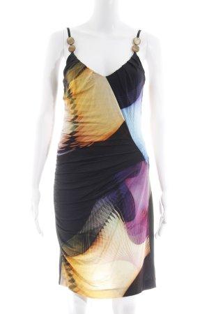 Ana Alcazar Trägerkleid abstraktes Muster extravaganter Stil