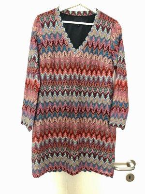 Ana Alcazar Longsleeve Dress multicolored
