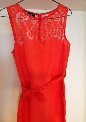 Ana Alcazar Jumpsuit red linen