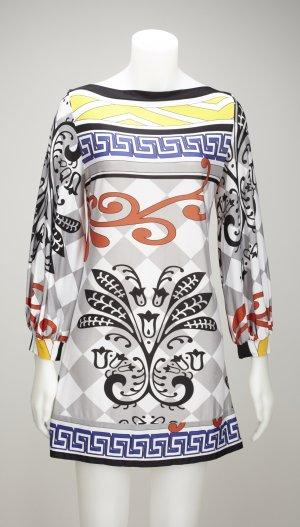 Analili Print-Kleid mit Versace-inspired Print