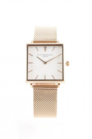 Montre analogue or rose
