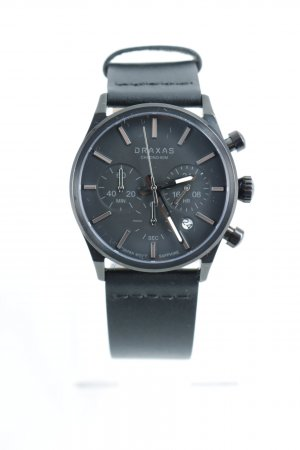 Draxas Analog Watch black simple style