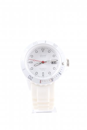 Analog Watch white-natural white casual look