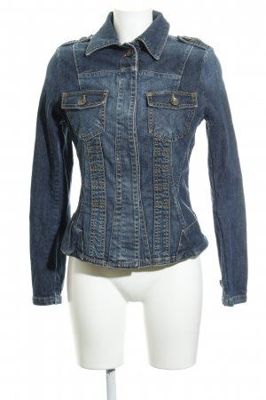 Anastacia by s.Oliver Denim Jacket flecked jeans look