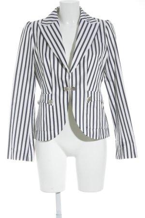 Anastacia by s.Oliver Short Blazer dark blue-white striped pattern navy look