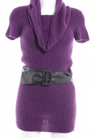 Anastacia by s.Oliver Woolen Dress lilac fluffy