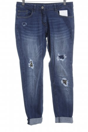 Anastacia Skinny Jeans blau Street-Fashion-Look