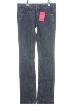 Anastacia Jeans met rechte pijpen blauw casual uitstraling