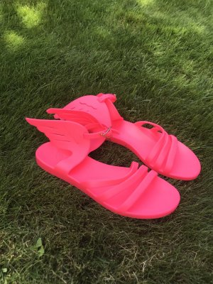 Ancient greek sandals Sandalo da spiaggia fucsia neon