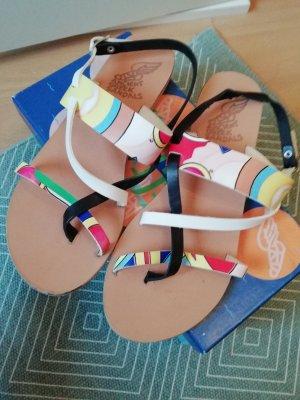 Ancient greek sandals Sandalen veelkleurig