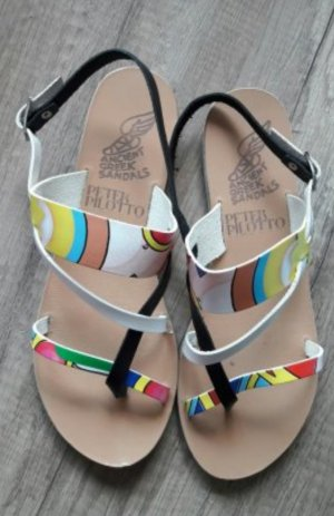 Ancient Greek Sandals Sandale Sandalen Sandalette Grafik Print Pop Art