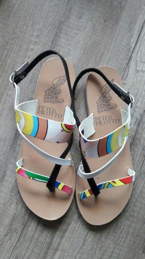 Ancient Greek Sandals Sandalen Dianette Sandalette Sandale Bunt 40