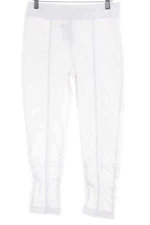 Ancora Pantalon 7/8 blanc style décontracté