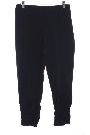 Ancora Pantalon strech noir style décontracté