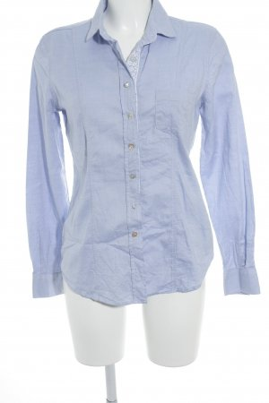 and Hemd-Bluse himmelblau-weiß Casual-Look