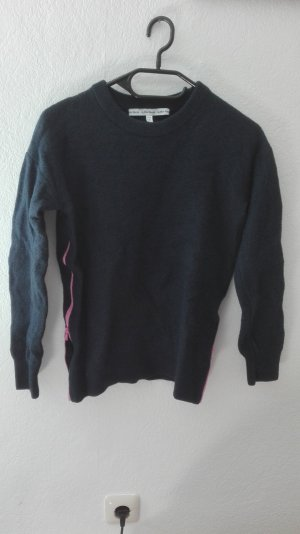 & and Other stories Pullover Wollpullover marine XS 34 100% Wolle