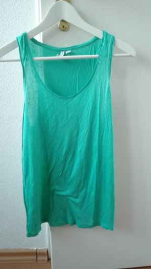 & and Other stories Tanktop Top Shirt M 38 grün oversize clean chic