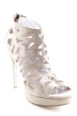 Andare High Heel Sandal oatmeal elegant