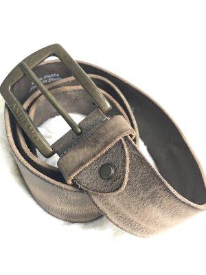 Andiamo Cinturón de cuero marrón claro