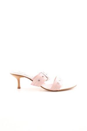 Andrea Conti Zomerschoenen met hak roze casual uitstraling