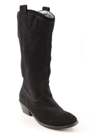 Andrea Conti Botas con tacón negro estilo country