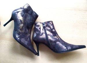 Andrea Conti edle Stiefelette Echtleder Textil 35 * NEU*